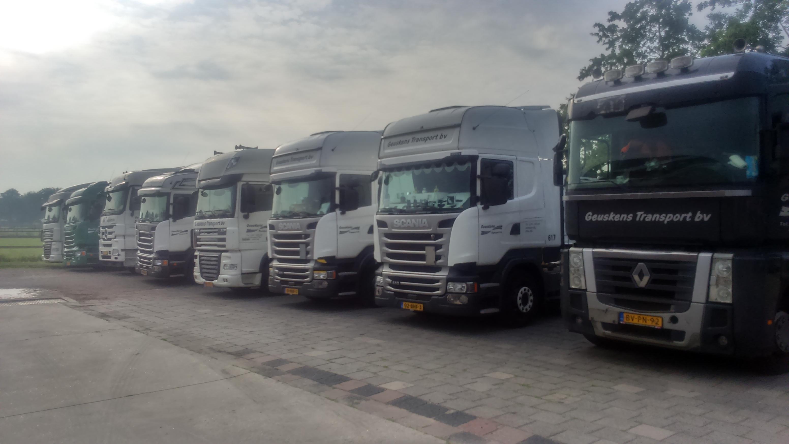 Uw flexibele partner in goederenvervoer